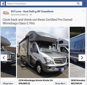 Case Study – Dynamic ReMarketing – Facebook