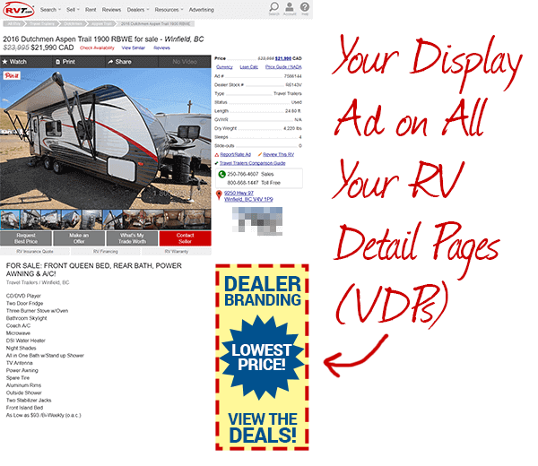 VDP Banner Advertising