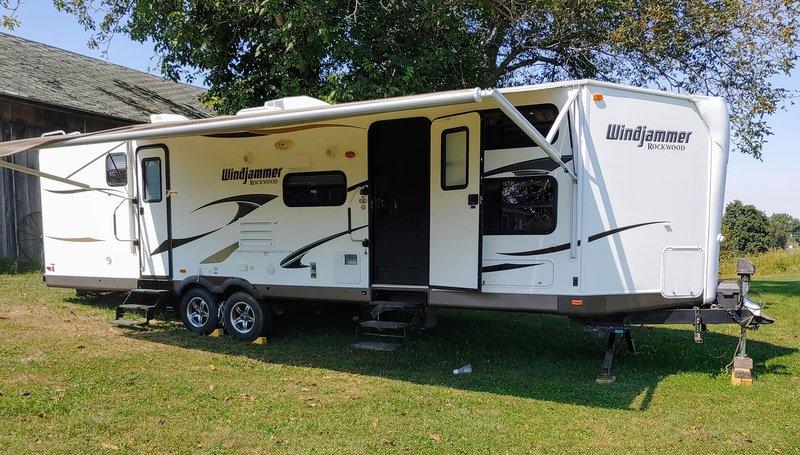 2014 Forest River Rockwood Windjammer 3006W
