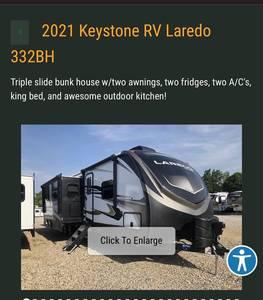 2021 Keystone Laredo 32BH