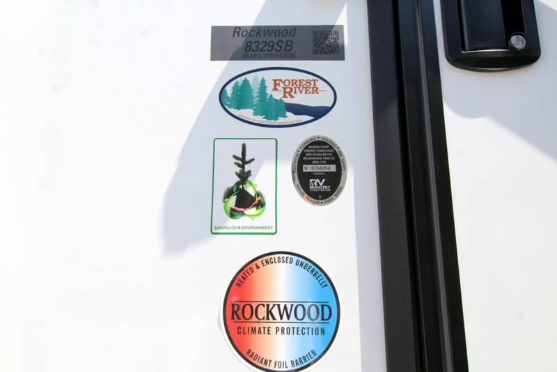 2021 Forest River Rockwood Signature Ultra Lite 8329SB