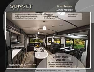 2017 CrossRoads Sunset Trail Grand Reserve 33SI