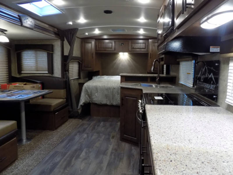 2020 Outdoors RV Timber Ridge 22FQS