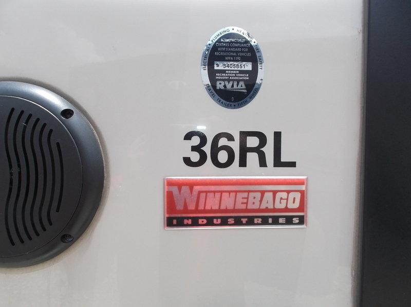 2016 Winnebago Destination 36 RL