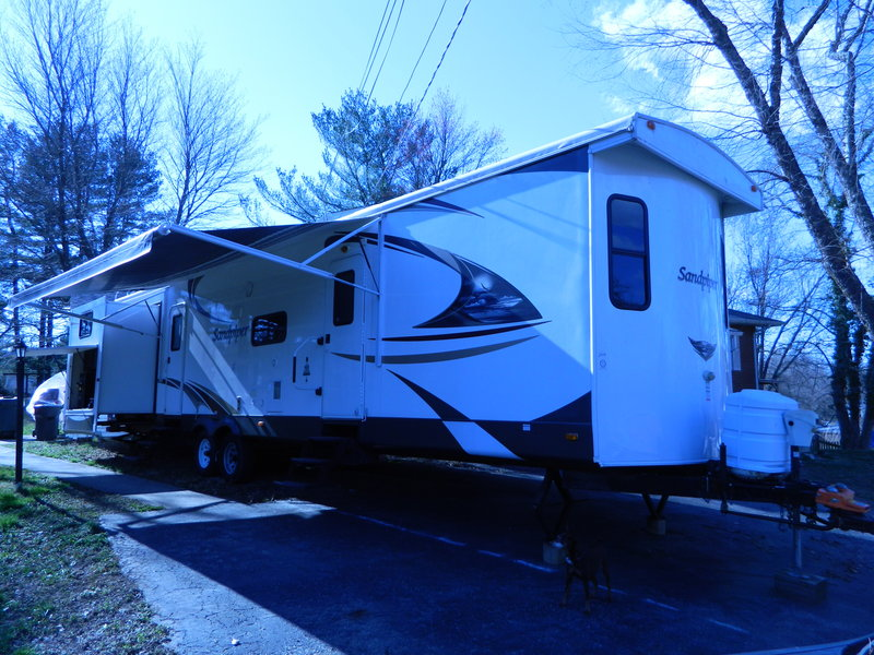 2014 Forest River Sandpiper Destination 392QB