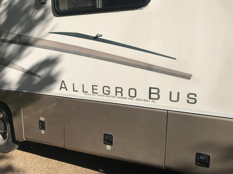 1997 Tiffin Allegro Bus VC Chassis