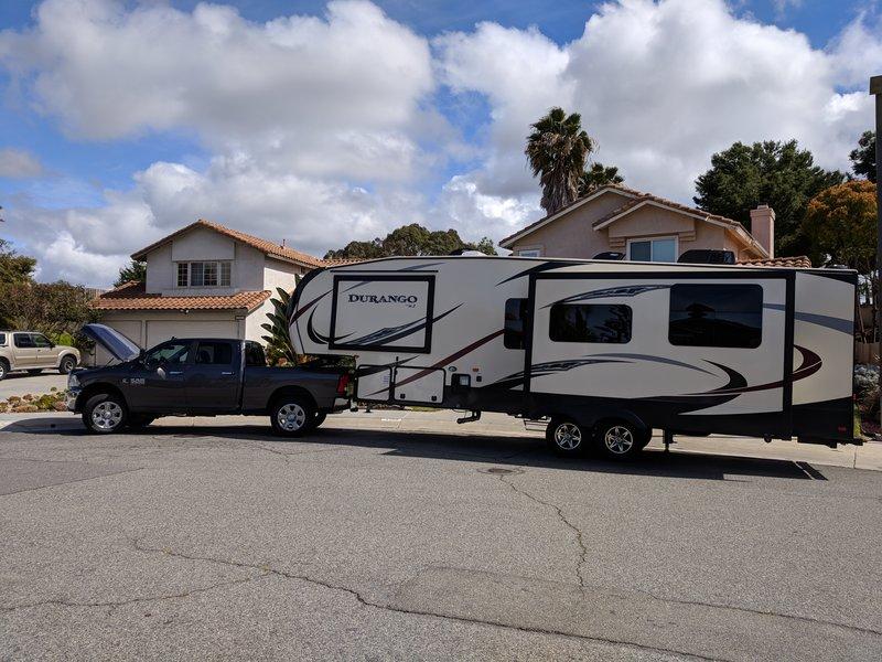 2018 KZ Durango 1500 256RKT