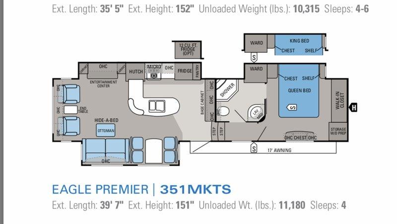 2013 Jayco Eagle Premier 351MKTS