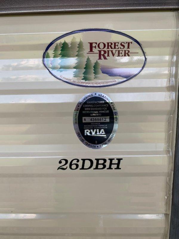 2017 Forest River Cherokee Grey Wolf 26DBH