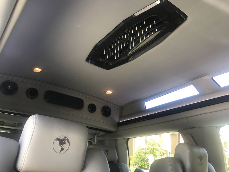 2017 Ford Explorer Van Conversion