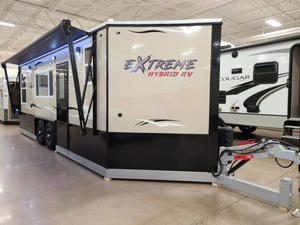 2021 American Surplus Ice Castle RV 8X21V HYBRID EXTREME