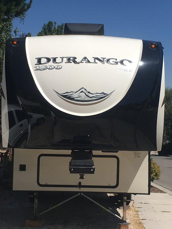 2018 KZ Durango 1500 D255RKT