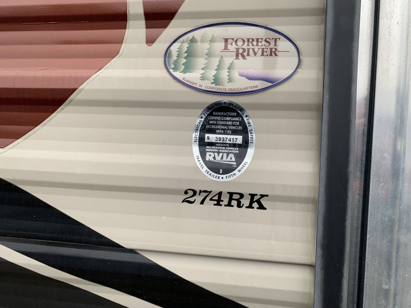 2016 Forest River Cherokee HT 274RK