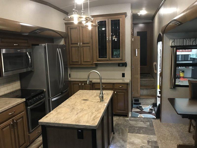 2018 Forest River Cedar Creek Hathaway 34RL2