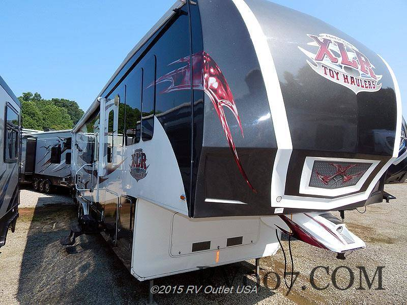 2011 Forest River XLR Thunderbolt 37x12sa