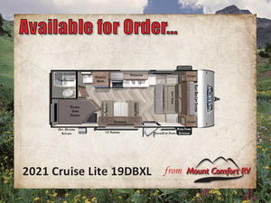 2021 Forest River Salem Cruise Lite 19DBXL
