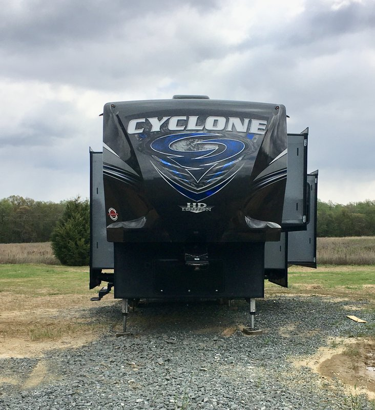 2017 Heartland Cyclone 3611JS