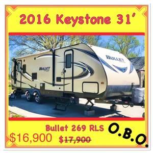 2016 Keystone Bullet 269RLS