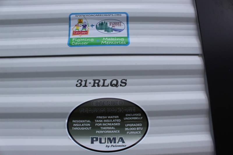 2021 Palomino Puma 31RLQS