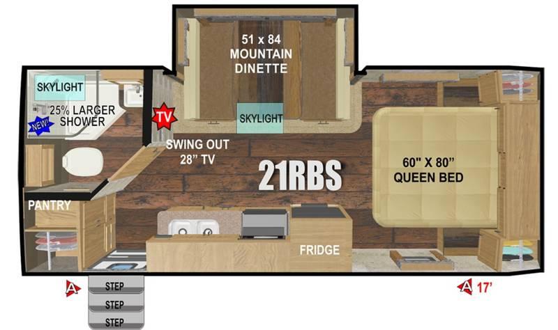2021 Outdoors RV Creek Side 21RD