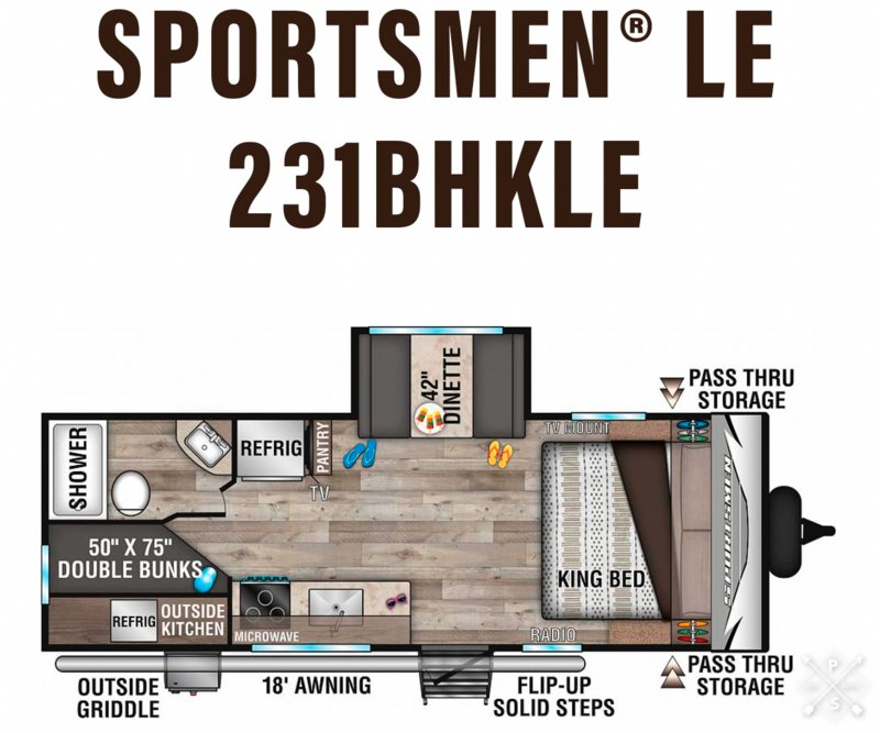 2020 KZ Sportsmen LE 231BHKLE