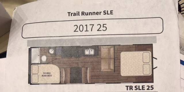 2017 Heartland Trail Runner 25SLE