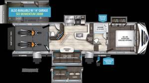2018 Grand Design Momentum M-Class 350M