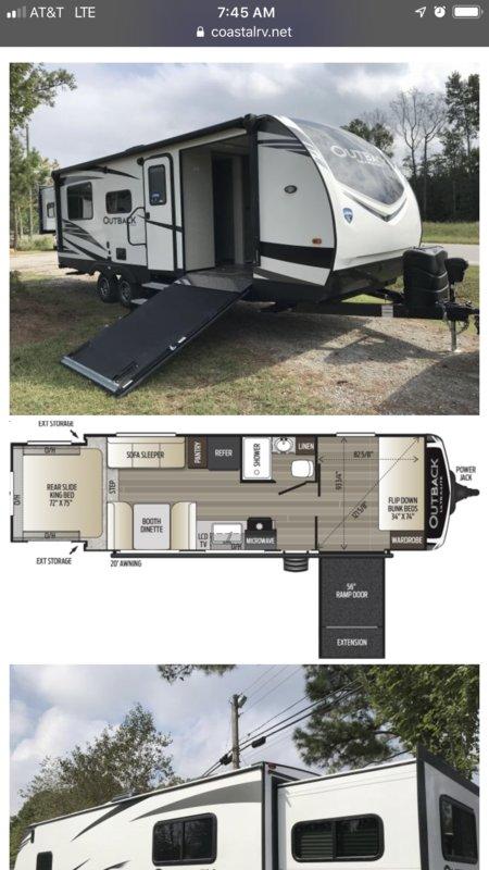 2019 Keystone Outback 240URS