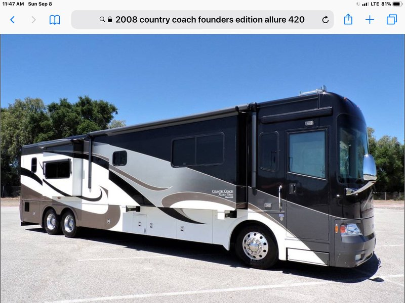 2008 Country Coach Allure 420 Founders Edition