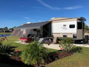 2018 Forest River Salem Villa 395FK LTD Destination Trailer