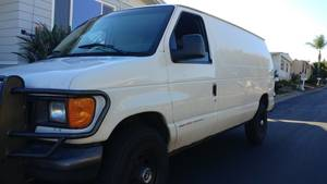 2006 Ford  e350 Power Stroke Turbo Van