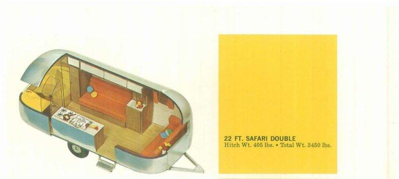1967 Airstream Safari 22NB