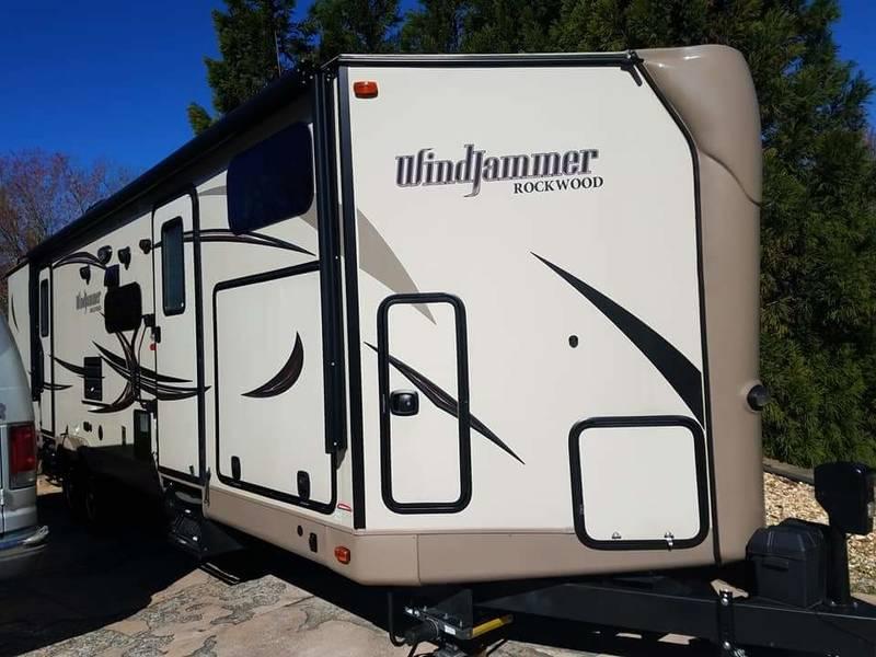 2016 Forest River Rockwood Windjammer 3006WK