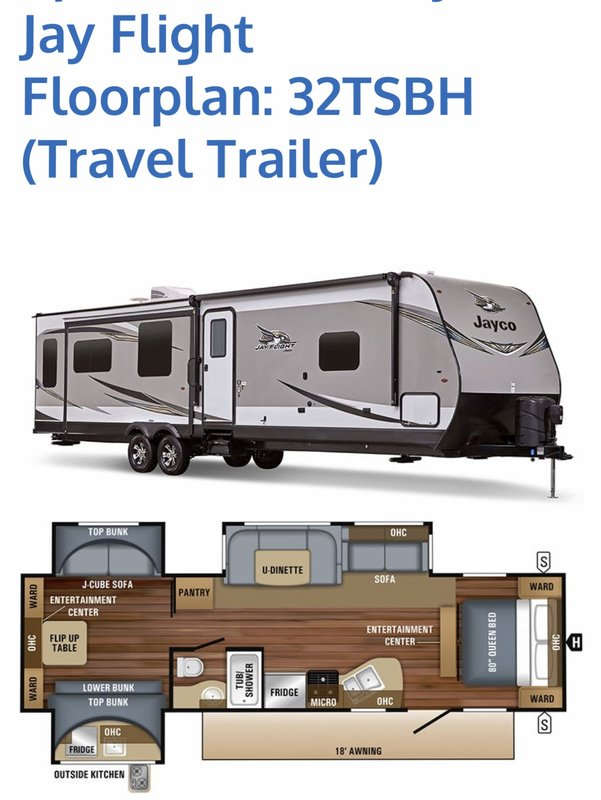 2019 Jayco Jay Flight 32TSBH