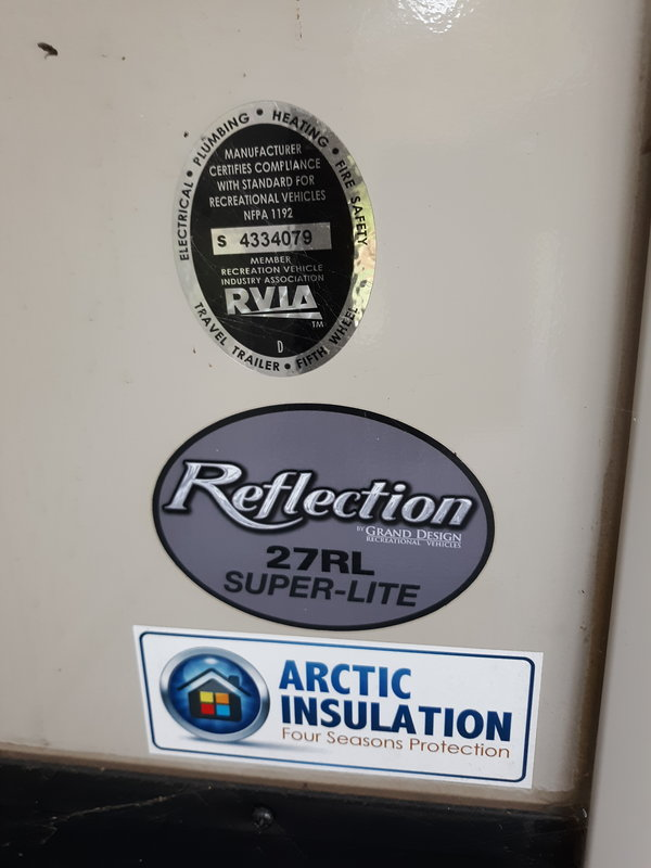 2017 Grand Design Reflection Super Lite 27rl