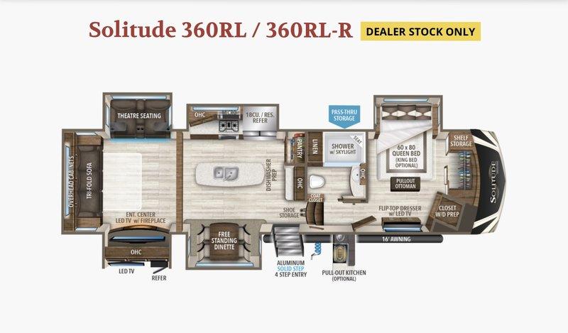 2017 Grand Design Solitude 360RL