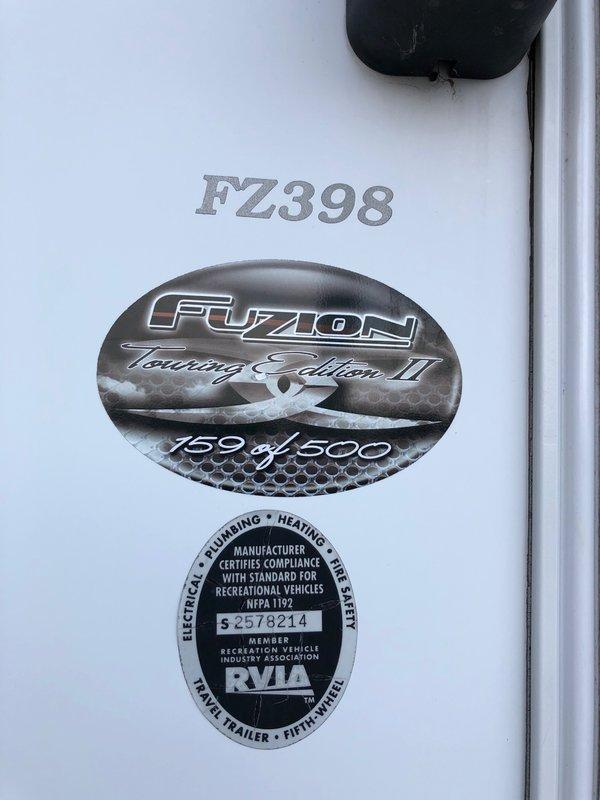 2010 Keystone Fuzion FZ398 Touring Edition II