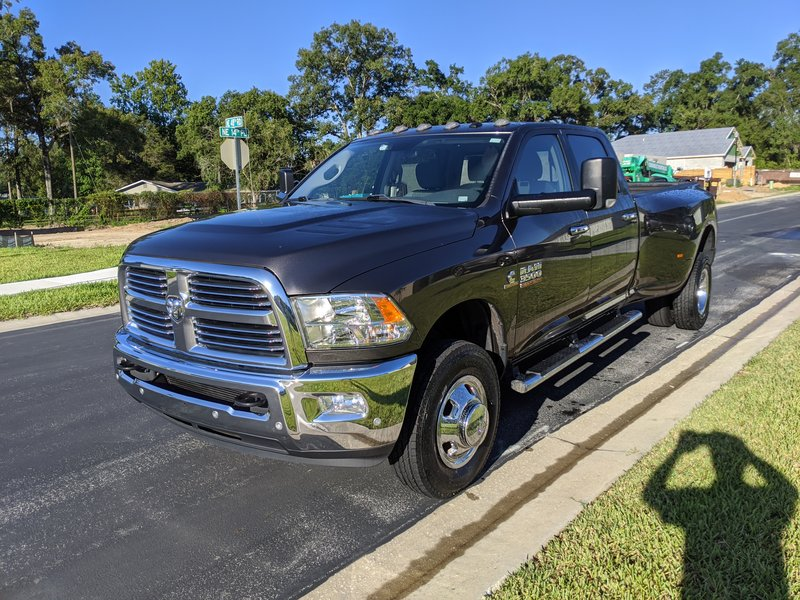 2017 Dodge Ram 3500 BIG HORN CREW CAB 4X4 LONG BOX DRW