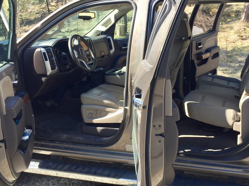 2015 GMC Sierra 2500 HD CREW CAB SLT V8 4WD