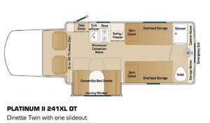 2012 Coach House Platinum II 241 XL DT