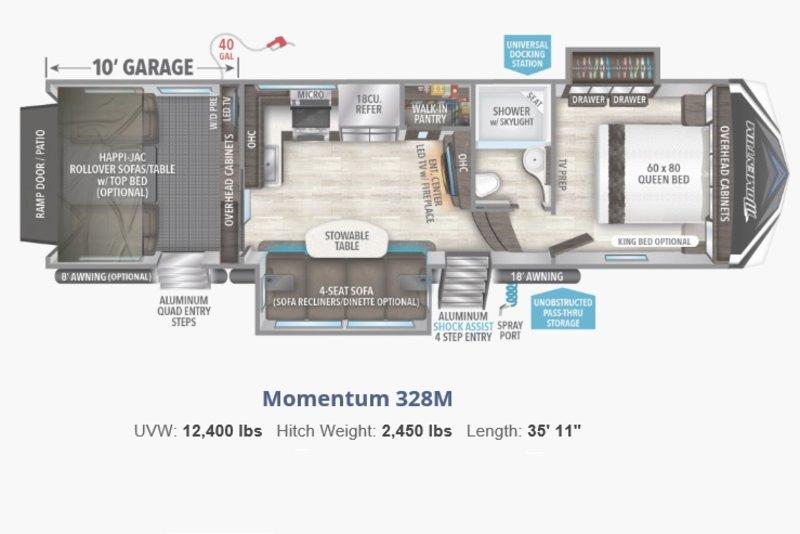Pleasing 2018 Grand Design Momentum M Class 328M For Sale Schomberg On Creativecarmelina Interior Chair Design Creativecarmelinacom