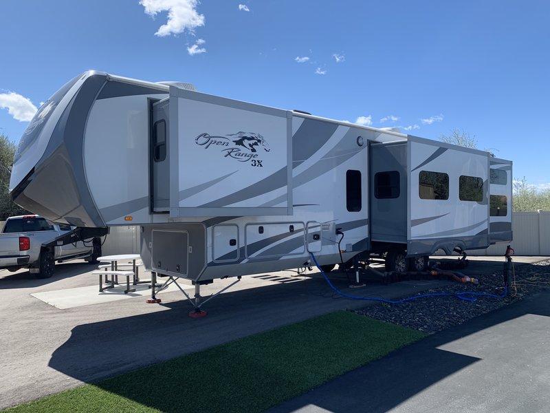 2017 Highland Ridge RV 3X Open Range