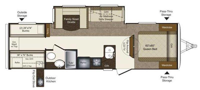 2012 Keystone Laredo Super Lite 291TG