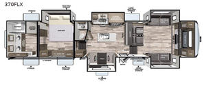 2022 Forest River Cardinal Luxury 370FLX