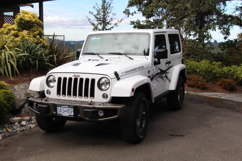 2016 Jeep Wrangler 75th Anniversary Sahara
