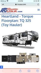 2017 Heartland Torque TQ325