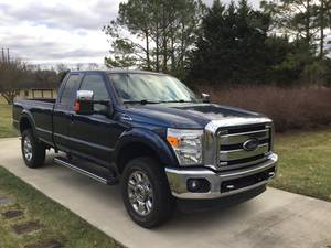 2015 Ford F-350 LOW MILEAGE Lariat SRW 4X4 Supercab Styleside 6.2 EFI V8 6 speed auto trans