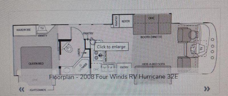 2008 Four Winds Hurricane 32E