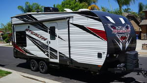 Toy Haulers Travel Trailers RVs Reviews