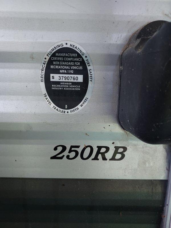 2016 CrossRoads Zinger 250RB
